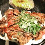 新大阪肉ランチ 松屋 漢(おとこ)のランチ