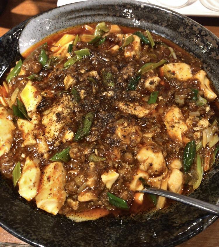 西中島南方 華Sansyou学 麻婆豆腐ランチ