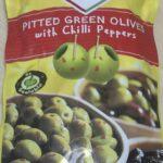 クレスポ グリーンオリーブ チリペッパーが美味しい