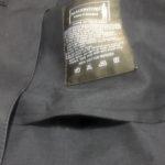マッキントッシュゴム引きコートのポケットが剥離したので、「裁ほう上手」で修理してみました。
