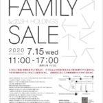 東京 マッシュグループファミリーセール 2020年7月15日開催